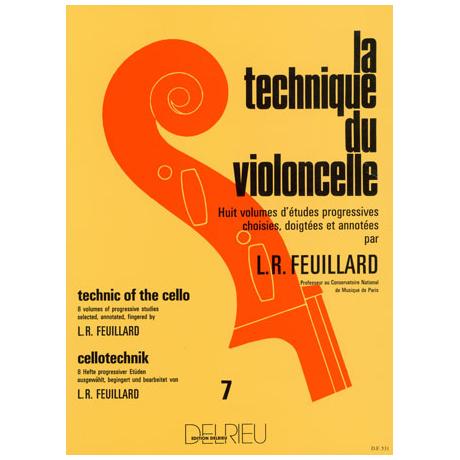 Feuillard, L.R.: La technique du violoncelliste Band 7