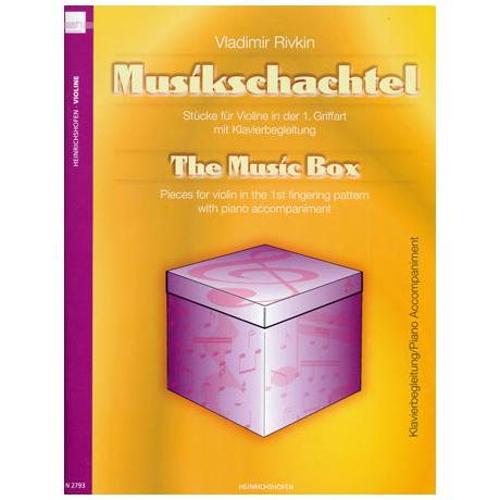 Rivkin, V.: Die Musikschachtel – Klavierbegleitung