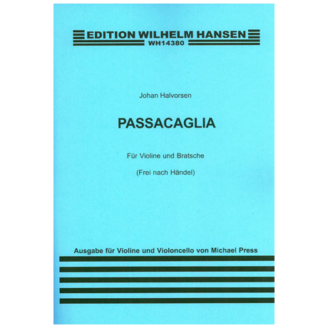 Halvorsen, J. A.: Passacaglia (frei nach Händel)