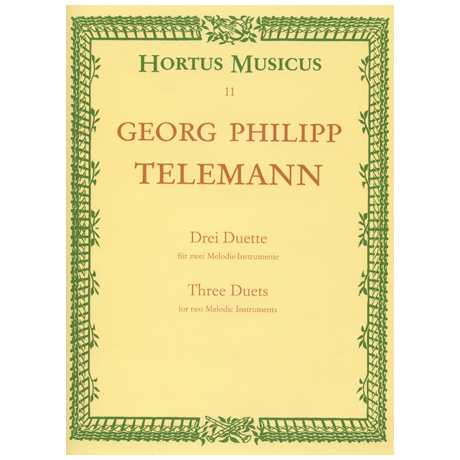 Telemann, G.P.: Drei Duette