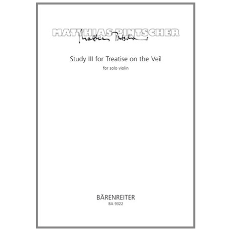 Pintscher, M.: Study III for Treatise on the Veil
