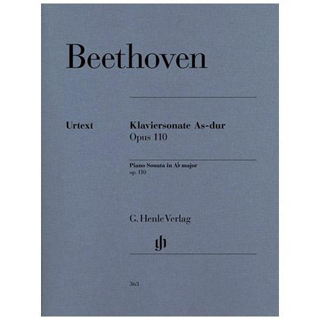 Beethoven, L. v.: Klaviersonate Nr. 31 As-Dur Op. 110