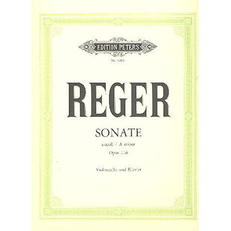 Reger, M.: Sonate a-moll, op. 116