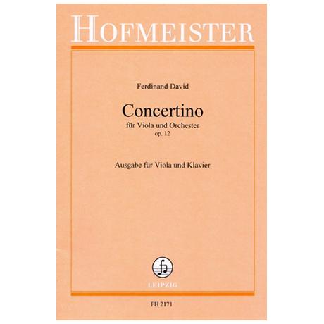 David, F.: Concertino für Viola und Orchester Op. 12