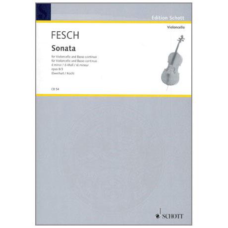 Fesch, W.d.: Sonata Op.8 Nr.3 d-moll
