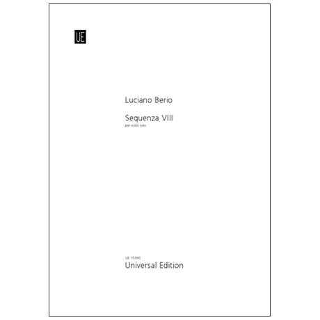 Berio, L.: Sequenza VIII