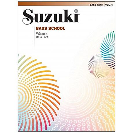 Suzuki Bass School Vol. 4