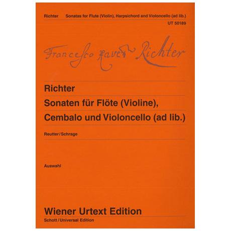 Richter, F. X.: Violinsonaten