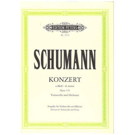 Schumann, R.: Konzert a-moll Op.129