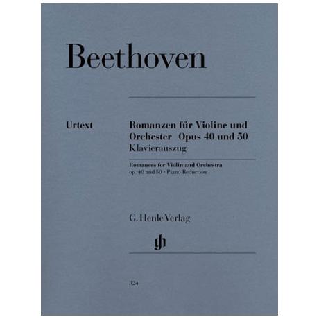 Beethoven, L.v.: Romanzen Op. 40 und Op. 50 Urtext