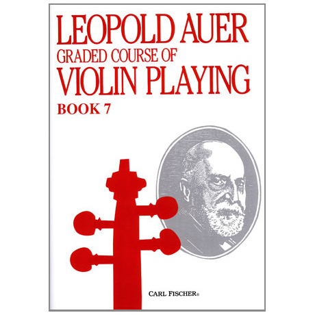 Auer, L.: Graded Course of Violin Playing 7