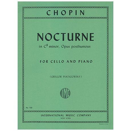 Chopin, F.: Nocturne in cis-moll (Piatigorsky)
