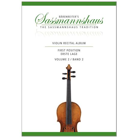 Sassmannshaus, K.: Violin Recital Album Band 2