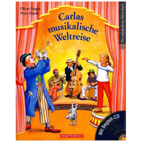 Carlas musikalische Weltreise (+ CD)