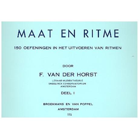 van der Horst, F.: Maat en ritme Bd.1
