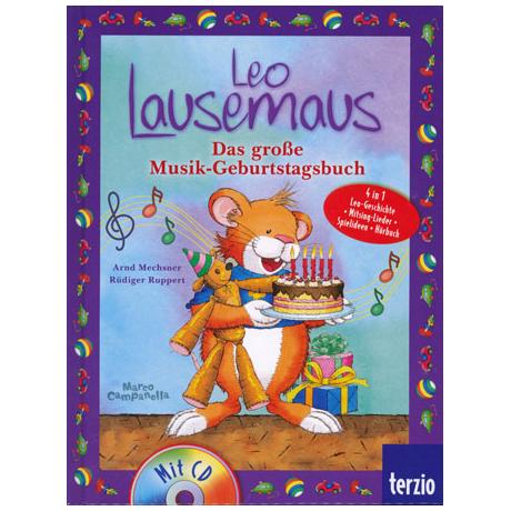 Campanella: Leo Lausemaus - Das große Musik-Geburtstagsbuch (+CD)