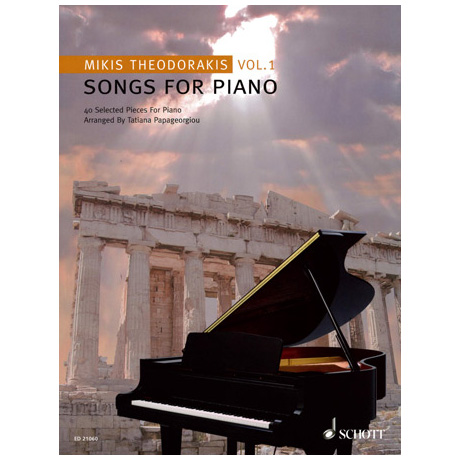 Theodorakis: Songs for Piano Vol.1