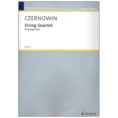 Czernowin, C.: Streichquartett