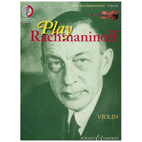 Play Rachmaninoff (+CD)