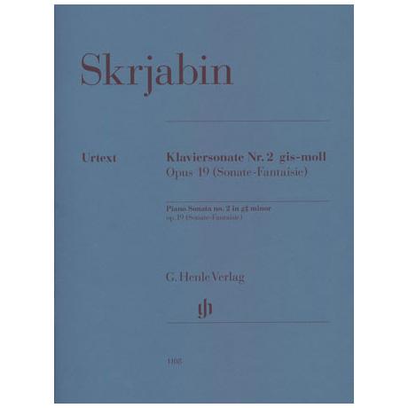 Skrjabin: Klaviersonate Nr. 2 gis-Moll Op. 19