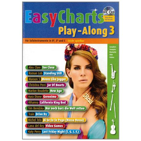 Easy Charts Playalong Band 3 (+CD)