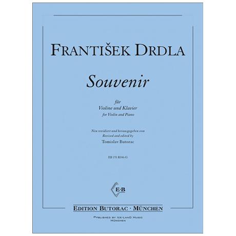 Drdla, F.: Souvenir