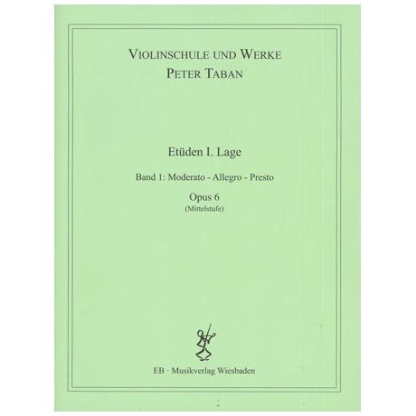 Taban, P.: Op. 6: Etüden I. Lage Band 1