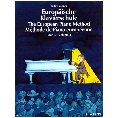Emonts: Europäische Klavierschule Band 3