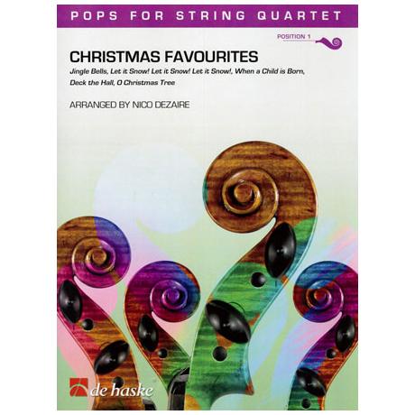 Pops for String Quartet - Christmas Favourites