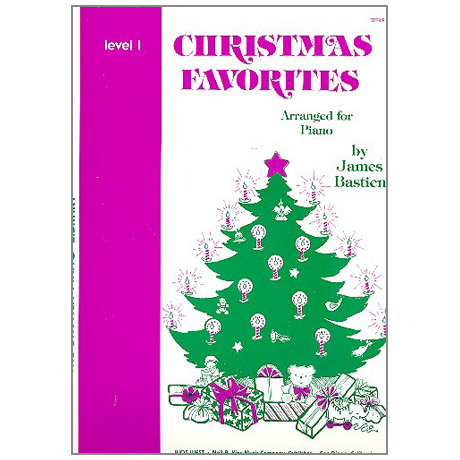 Bastien, J.: Christmas Favorites - Stufe 1