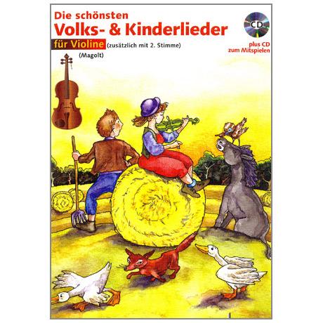 Magolt: Die schönsten Volks- und Kinderlieder (+CD)