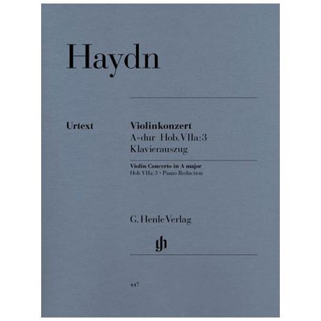 Haydn; J.: Violinkonzert A-Dur, Hob. VIIa:3