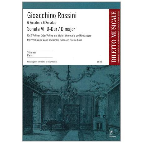 Rossini, G. A.: Violasonate Nr. 6 G-Dur