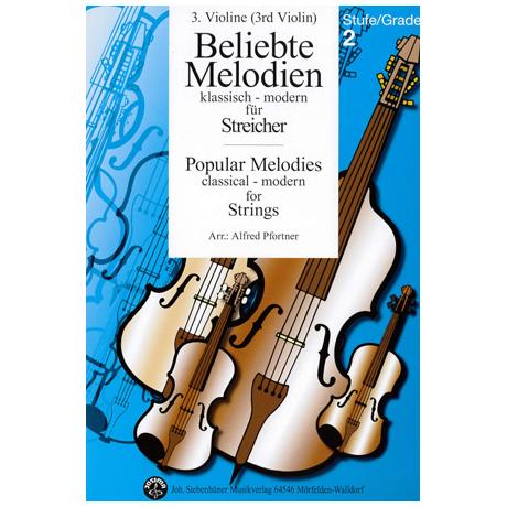 Beliebte Melodien: klassisch bis modern Band 3 – Violine 3