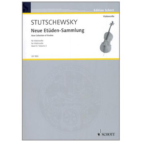 Stutschewsky, J.: Neue Etüden-Sammlung Band 3