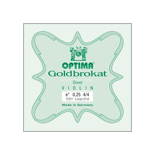 LENZNER-OPTIMA Goldbrokat Violinsaite E