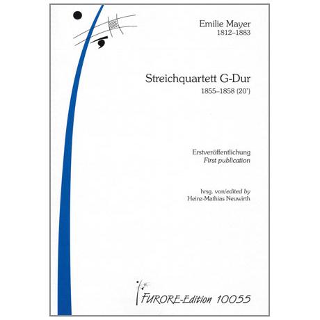 Mayer, E.: Streichquartett G-Dur