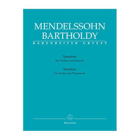 Mendelssohn Bartholdy, F.: Violinsonaten