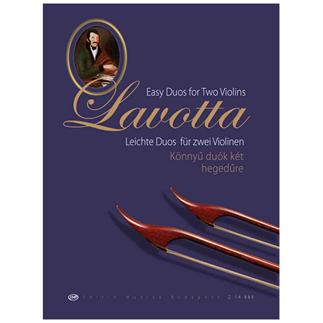 Janos, D.: Lavotta - Easy Duos for two Violins