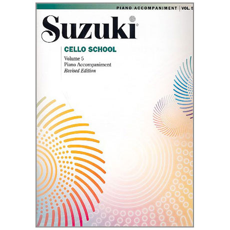 Suzuki Cello School Vol.5 – Piano Accompaniment