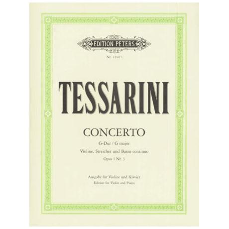 Tessarini, C.: Konzert G-Dur op.1 Nr. 3