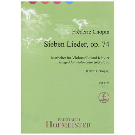 Chopin, F.: Sieben Lieder op.74
