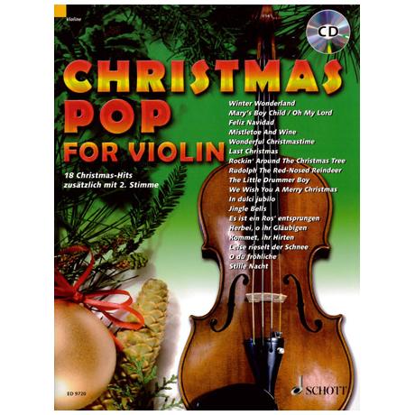 Christmas Pop For Violin (+CD)