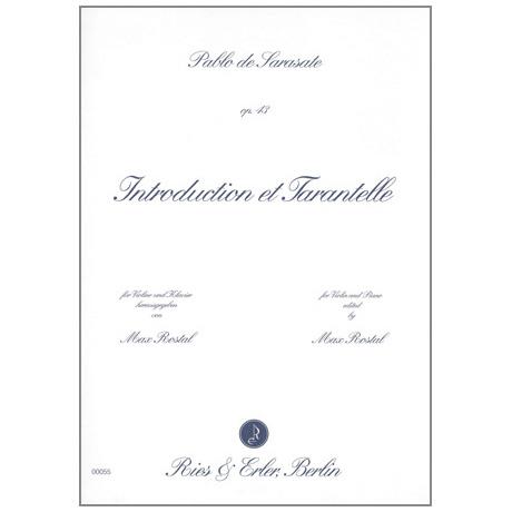 Sarasate, P. d.: Introduction et Tarantelle Op. 43