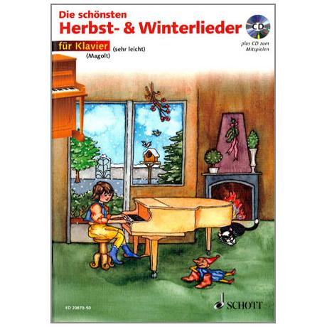 Die schönsten Herbst- und Winterlieder (+CD)