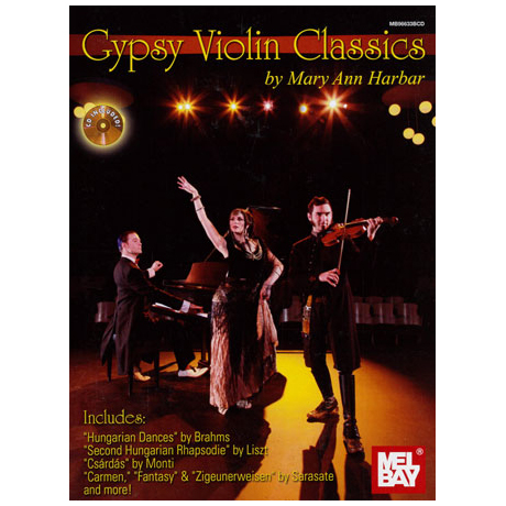 Gypsy Violin Classics (+CD)