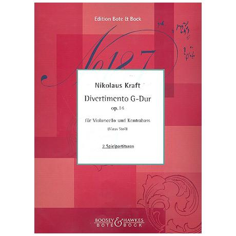 Kraft, N.: Divertimento Op. 14 G-Dur