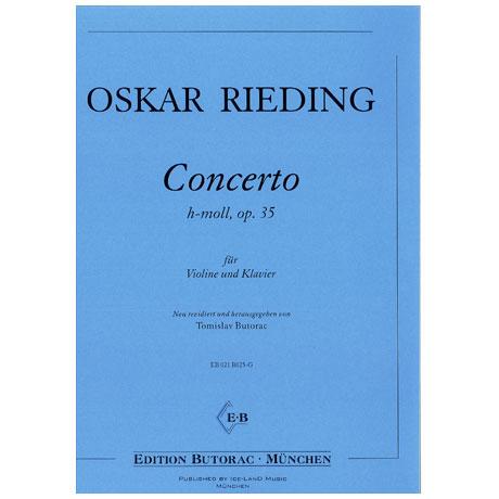 Rieding, O.: Concertino in h-moll op. 35