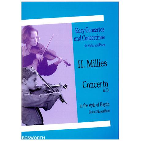 Millies, H.: Concertino D-Dur im Stile Haydns