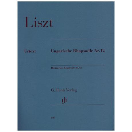 Liszt, F.: Ungarische Rhapsodie Nr. 12